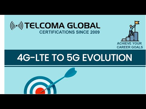 4G-LTE to 5G Evolution - 5G Training and Certification by TELCOMA ...