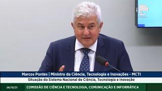 Situação do Sistema Nacional de Ciência, Tecnologia e Inovação - 06/10/2021 09:00
