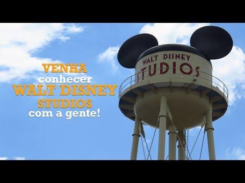 Como é o Walt Disney Studios Paris