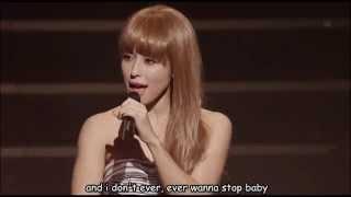 BENI -- La La La Love Song (live) with lyrics