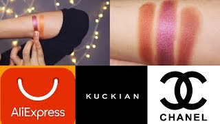 KUCKIAN & ALIEXPRESS & CHANEL Comparison Swatches & More!