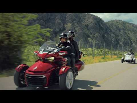 2021 Can-Am Spyder F3-S Special Series in Santa Rosa, California - Video 1