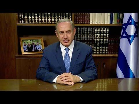 Netanyahu felicita a Trump y lo califica de