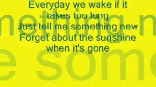 The All American Rejects: Sunshine Lyrics