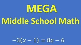 MEGA Middle School Math