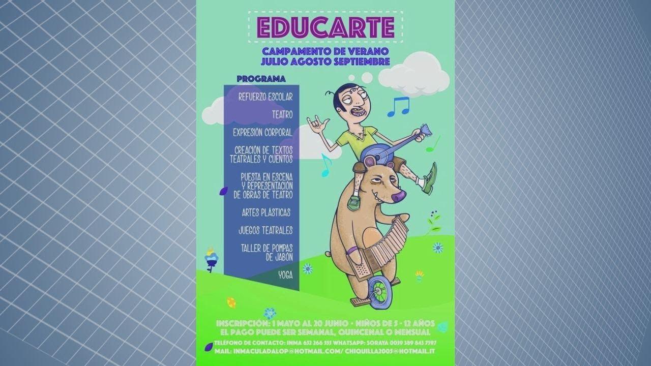 SIGUE EN MARCHA EL CAMPUS DE VERANO EDUCARTE