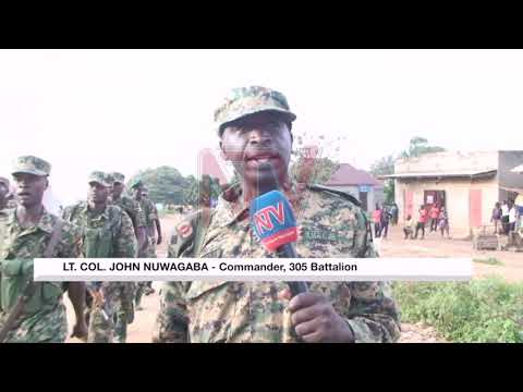UPDF soldiers engage in fitness exercises