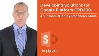 Developing Solutions for Google Cloud Platform (CPD200) Training