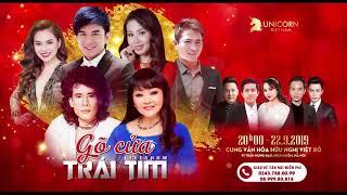 Liveshow Gõ cửa trái tim - Tuấn Vũ - Hương Lan - Đan Trường - Cẩm Ly
