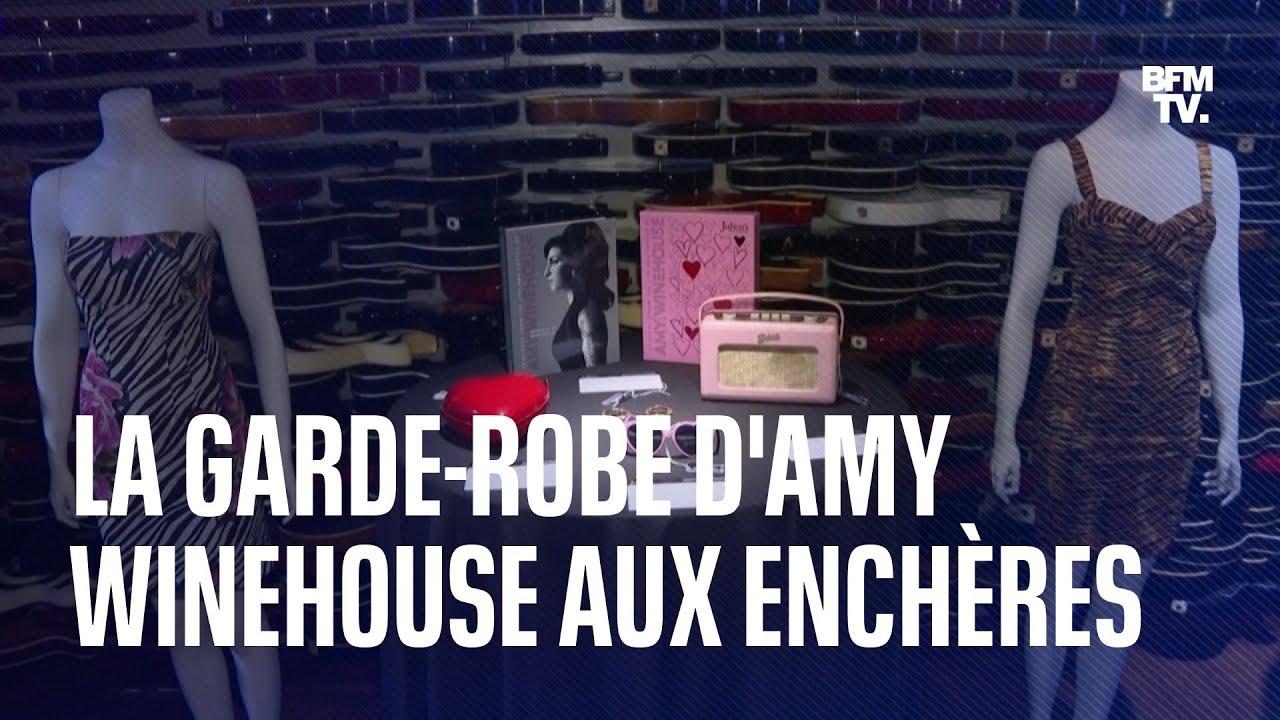 La garde-robe d'Amy Winehouse est mise aux enchères pour 1 à 2 millions de dollars