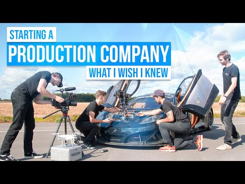, title : 'Starting A Video Production Company - 10 Things I Wish I Knew!!