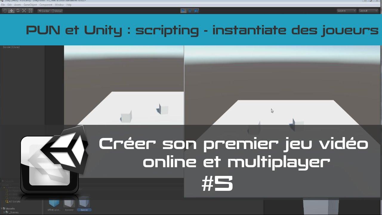 [TUTO Unity3D FR] Unity 5 - Créer un jeu vidéo online et multiplayer #5- Instantiate