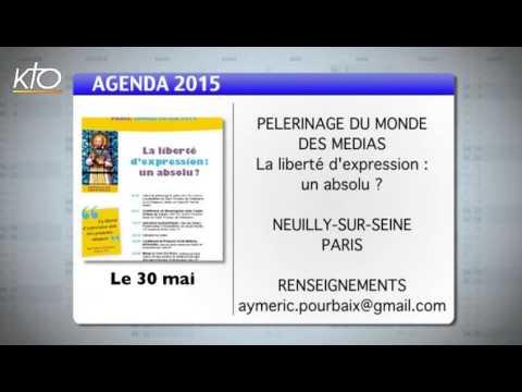 Agenda du 15 mai 2015