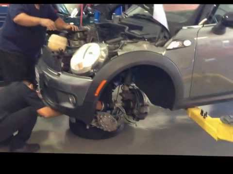 Mini Cooper Engine Replacement at MiniWorx in Redondo Beach