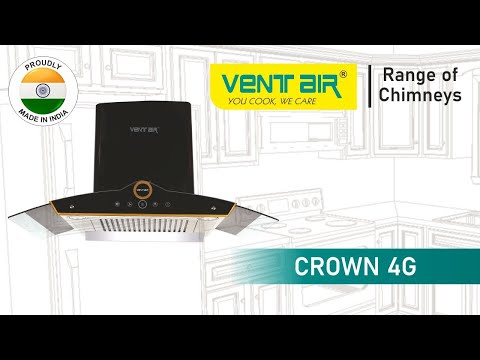 CROWN 4G Ventair Kitchen Chimney