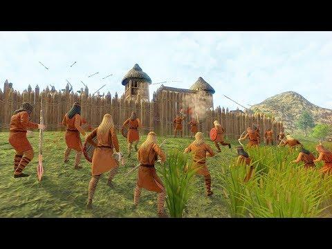 Dawn of Man | Ep. 12 | Ancient Warfare - Shield Making | Dawn of Man City Building Tycoon Gameplay