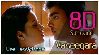 Vaseegara 8D | Minnale | Madhavan | Reema Sen | Harris Jayaraj