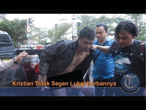 Preman di Palembang Ini Meringis Diterjang Timah Panas