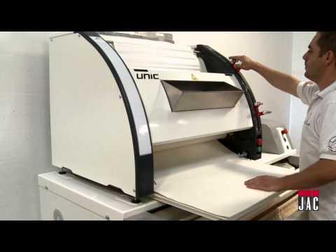 video 1, Façonneuse boulangerie tout terrain (UNIC)
