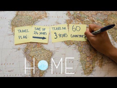 3 שנים מסביב לעולם - סרטון טיולים מופלא