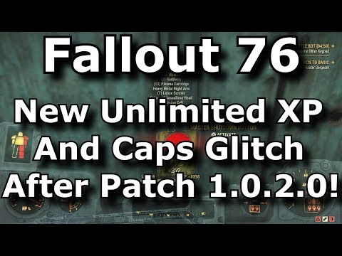 Fallout 76 Unlimited Carry Weight Glitch After Patch 1 0 2! Infinite
