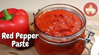 Red Bell Pepper Paste
