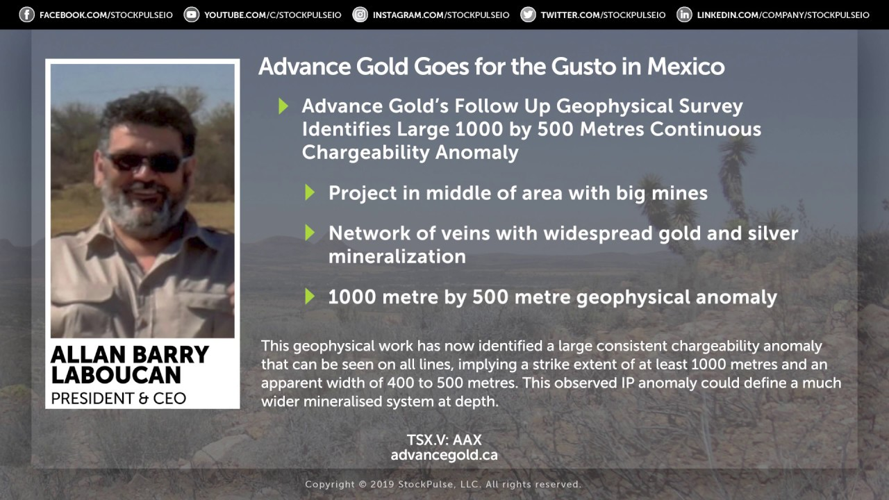 Advance Gold Goes for the Gusto in Mexico