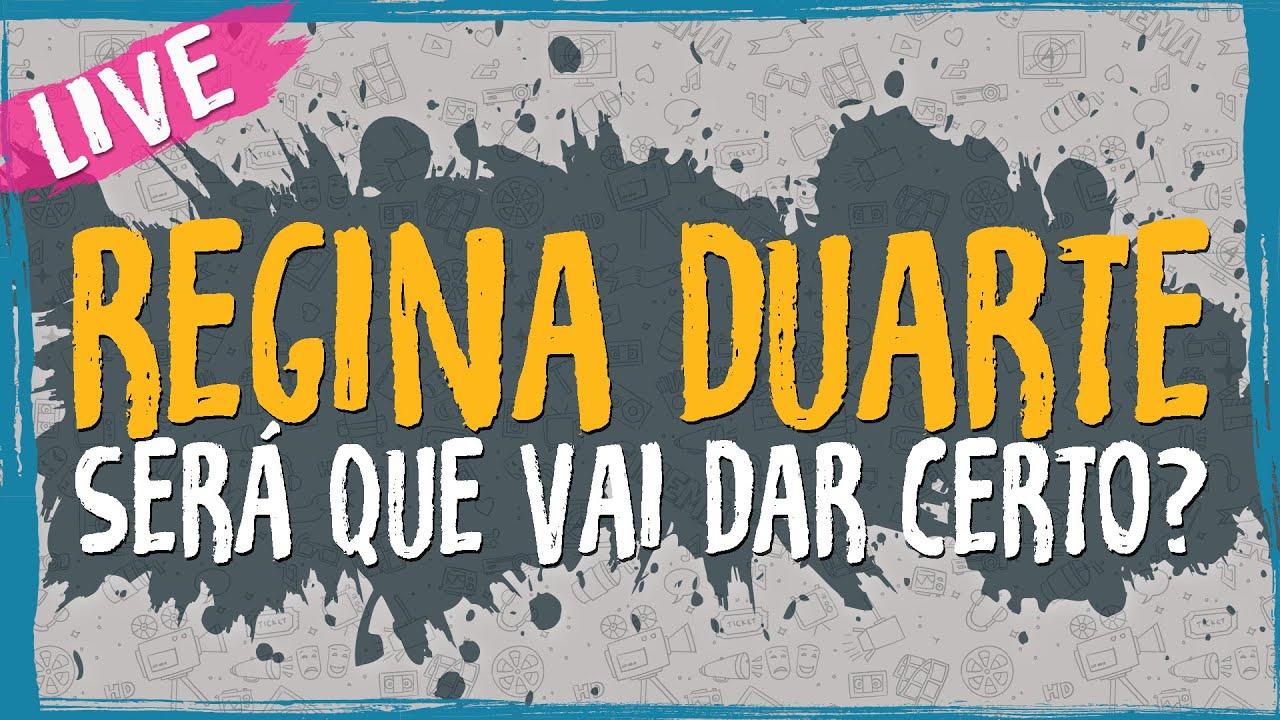 Regina Duarte – Será que vai dar certo? – Live