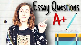 Preparing For Essay Questions - Tips for College Students