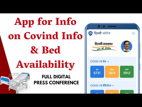 App for Info on Covid Info & Bed Availability etc. #DelhiCoronaApp