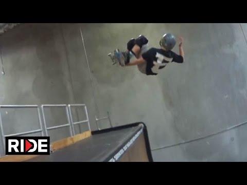 Tony Hawk Films 11-Year-Old Evan Doherty Skateboarding