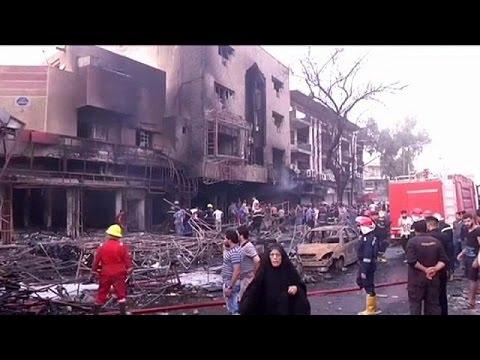 Ιράκ: Δύο φονικές εκρήξεις συγκλόνισαν τη Βαγδάτη