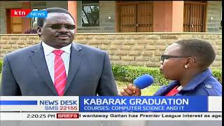 Kabarak University Vice-Chancellor Henry Kiplagat