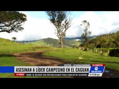 Asesinan a lider comunitario de San Vicente del Caguan