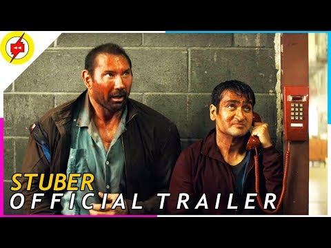 STUBER [2019] | Official Trailer | Kumail Nanjiani, Dave Bautista