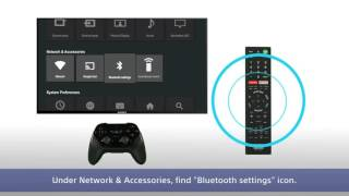 Sony BRAVIA - How to connect to Bluetooth devices.