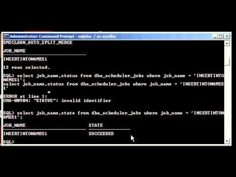 Oracle DBA Justin - How to drop a job from the internal DBMS scheduler