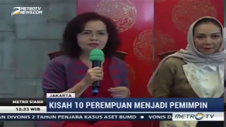 Liputan Peluncuran Buku Perempuan Pemimpin (MetroTV)