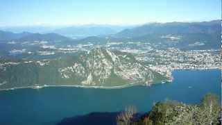preview picture of video 'Lanzo d'Intelvi - Vetta Sighignola 1.320 m. - Balcone d'Italia'