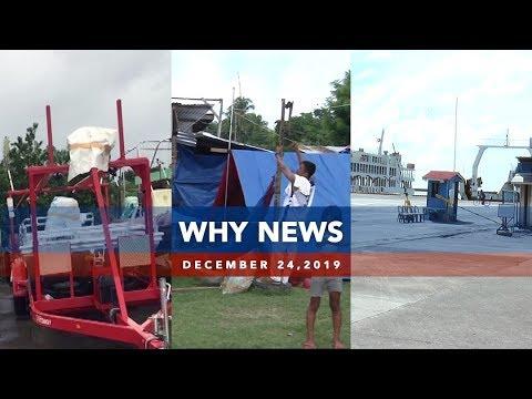 [UNTV]  UNTV: Why News   December 24, 2019