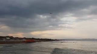 Черное море 7.10 утра 1.09.2018 - начало ОСЕНИ - дождик