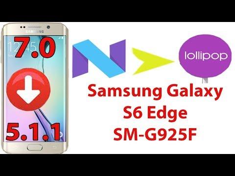S6 Edge+ SM-G928C Downgrade 6 0 1 Marshmallow to 5 1 1