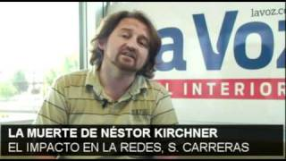 La Muerte De Néstor Kirchner / Impacto En Las Redes Por Serio Carreras