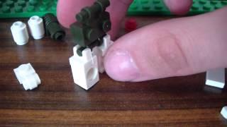 Делаем из Lego Киборга (Робота)