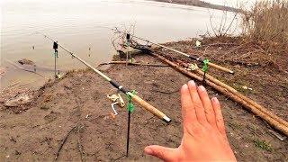 Рыбалка в конце марта на каме