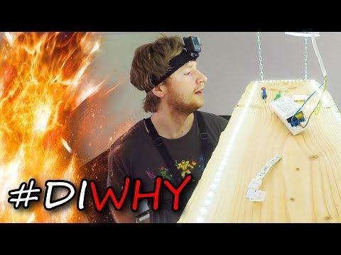 DIY LED Deckenlicht/Deckenbeleuchtung | Bastelboy Maxim | #DIWhy