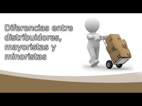 Diferencias entre distribuidores, mayoristas y minoristas