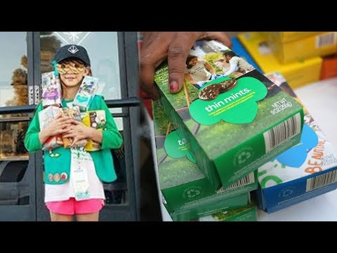 Girl Scout In HOT WATER After Selling Cookies Outside Weed Dispensary