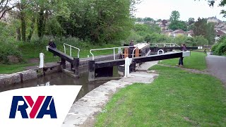 Lock Safety - Inland Waterways Top Tips - Working with Locks on Canals