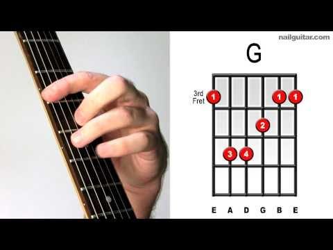 G Major - How to Play Guitar Bar Chords